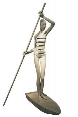 Origine bronze 160 x 95 x 72 cm